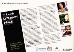 SI Lit Prize Leaflet 2012